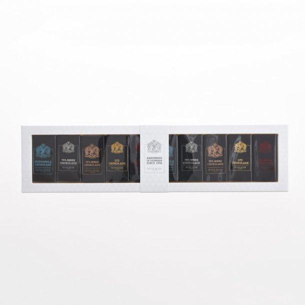10 Miniplader i gaveæske