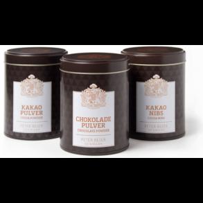Kakaonibs og pulver